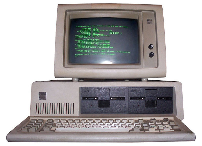 Der IBM PC (Wikipedia)